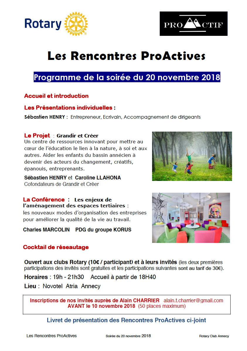 rencontres ProActives
