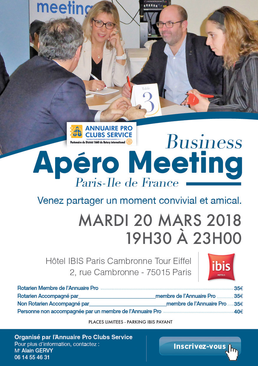invitation apero meeting MARS 18 - 4