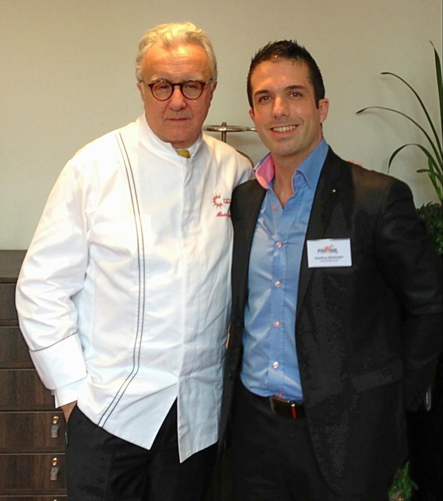 Alain Ducasse pour le Collège Culinaire de France